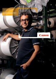 Mejorar la calidad para impulsar el negocio ... - Canon España