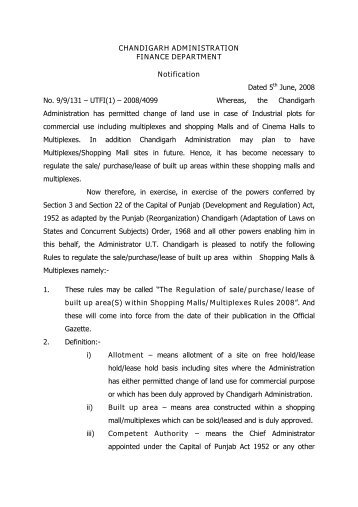 fin_not08_4099.pdf - Chandigarh