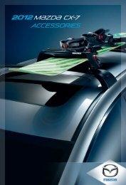 2012 M{zd{ cx-7 accessories - Mazda