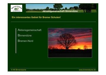 Wer wir sind - Binnendüne Bremen-Nord