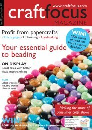 Your essential guide to beading - Craft Focus Magazine