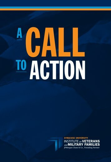 Call to Action - Institute for Veterans and Military Families - Syracuse ...