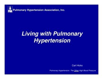 Pulmonary Hypertension Association, Inc. - Women in Government