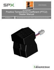 (PTC2) Heater Manual - SPX Transformer Solutions
