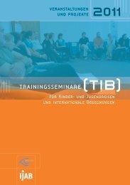 trainingsseminare - IJAB