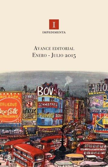 PLAN EDITORIAL ENE-JUL 2015