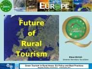 Green Tourism in Rural Areas: EU Policy and Best Practices