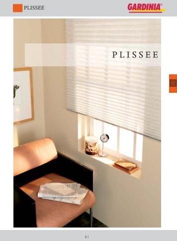 PLISSEE - Gardinia