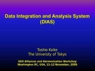 DIAS - WGISS Home Page