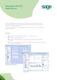 Datenblatt HWP 2011 Regiezentrum - Business-Ware