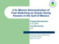 US Mexico Fuel Switching Demonstration - Northeast Diesel ...