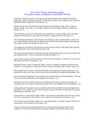 Auto-Urine Therapy (Shivambu Kalpa): The Indian version as ...