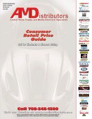 Download our Summer 2013 Catalog - AM Distributors
