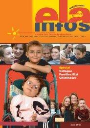 Supplément ELA Infos n°58 – juin 2007