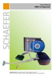 User manual for DMD Configurator - SCHAEFER