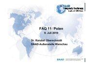 FAQ 11: Polen