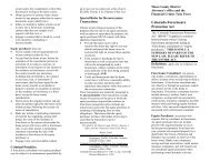 Foreclosure Protection Brochure - Mesa County