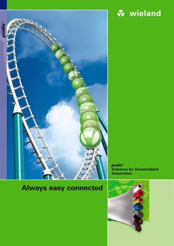 Always easy connected - Wieland Electric
