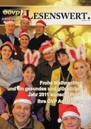 Ausgabe 4/2010 - ÖVP Ansfelden