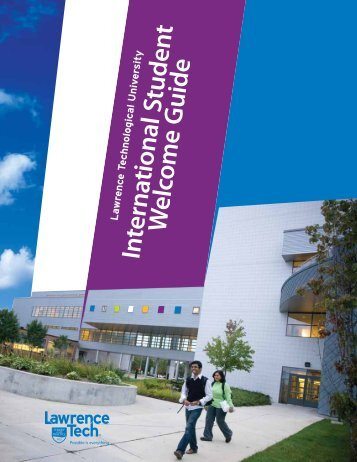 International Student Welcome Guide - Lawrence Technological ...