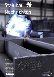 Stahlbau Nachrichten - Verlagsgruppe Wiederspahn