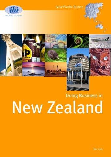 New Zealand - JHI