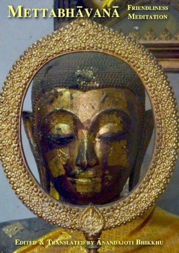 Mettabhāvanā (Universal version) Friendliness Meditation - Ancient ...