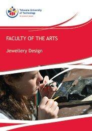 Jewellery Design - Tshwane University of Technology