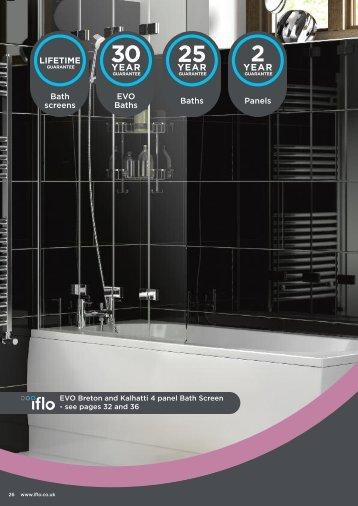 Metz Shower Bath - Travis Perkins