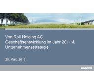 2011 - Von Roll