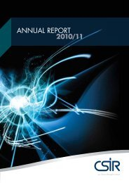Read the full Annual Report in PDF format - CSIR
