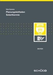 Planungsleitfaden Schueco Solarthermie circa 15 MB - Gerenda Solar