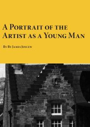 A Portrait of the Artist as a Young Man - Planet eBook