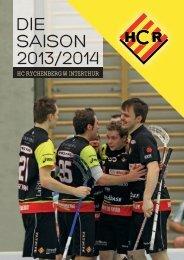 Saisonheft HCR 2013&2014;.pdf - HC Rychenberg