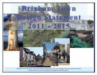 Brixham Town Design Statement 2011 - 2015 - Torbay Council