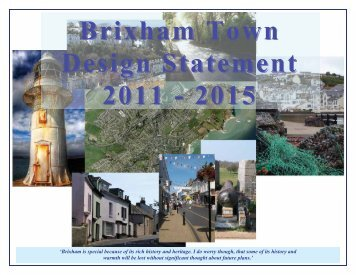 Brixham Town Design Statement 2011 - 2015 - Torbay Council