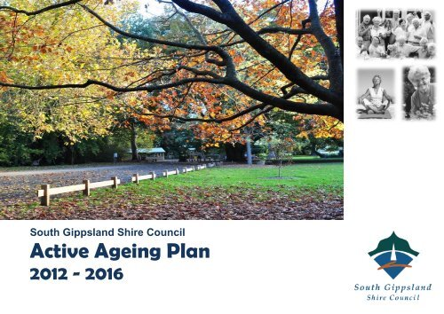 Active Ageing Plan - South Gippsland Shire Council