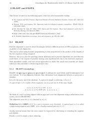 03 Blast - Algorithms in Bioinformatics