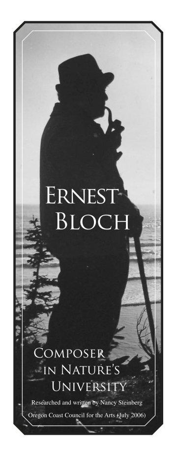 Ernest Bloch - Ocean18
