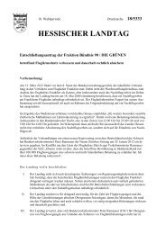 Fluglärmschutz verbessern und dauerhaft rechtlich absichern