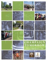 The Comprehensive Plan - City of Champaign
