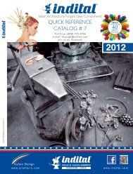 INDITAL Quick Reference Catalog #7 - Jansen Ornamental Supply