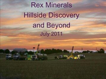 Rex Minerals Update