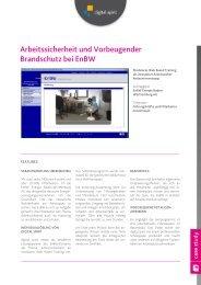"""Download Case Study """"Arbeitssicherheit"""" - Compliance Training"""