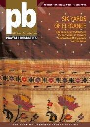 SIX YARDS OF ELEGANCE - Overseas Indian