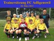 Infos Internet - FC Adligenswil