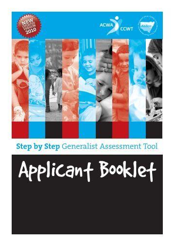 Generalist - Association of Children's Welfare Agencies