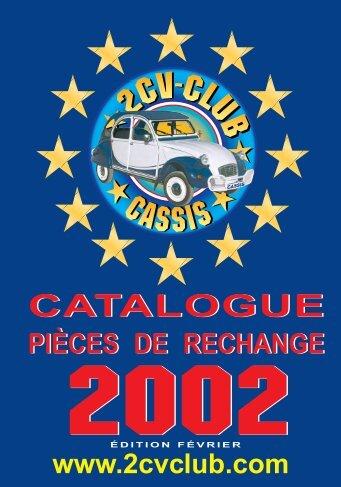 Couv Cata 2cv 01/2002 - Mehari 2 CV Club