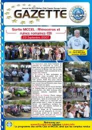 Sortie MCCEL : Rhinocéros et ruines romaines ... - Mehari 2 CV Club