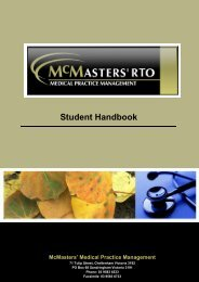 SM15.1.3 - McMasters Training Pty Ltd